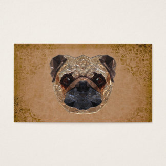 Hundmosaik Visitkort