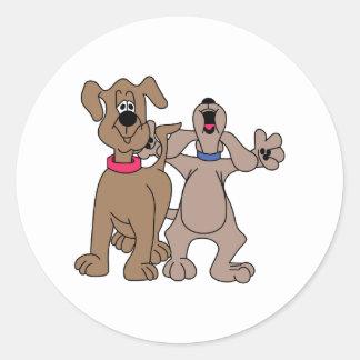 HundPals Runt Klistermärke