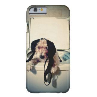 Hundportion ut med tvätta barely there iPhone 6 skal