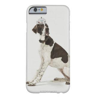 Hundsitta med en tiara på huvudet barely there iPhone 6 skal
