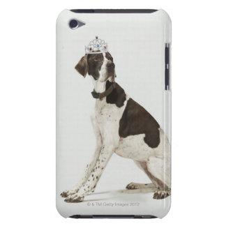 Hundsitta med en tiara på huvudet iPod touch överdrag