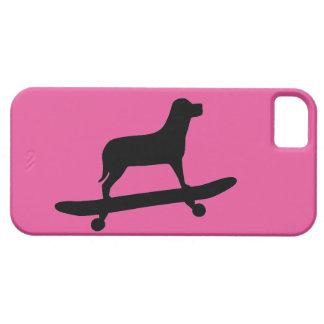 HundSkateboarding - skraj fodral för iPhone 5 Barely There iPhone 5 Fodral