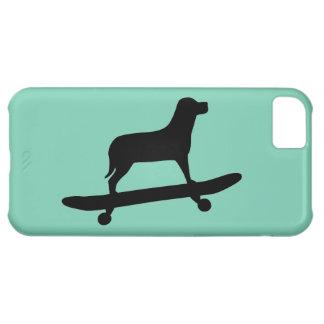 HundSkateboarding - skraj fodral för iPhone 5C iPhone 5C Fodral