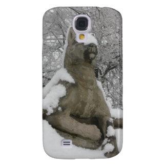 hundstaty i snö galaxy s4 fodral