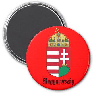 Hungary* vapensköldmagnet magnet rund 7.6 cm
