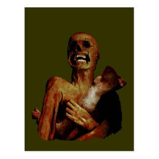 Hungrig hungrig Zombie Vykort
