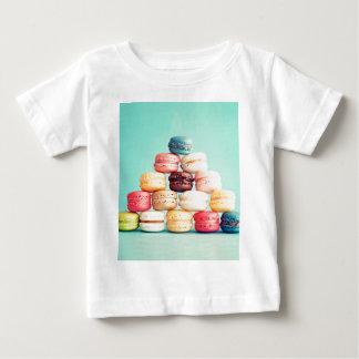 Hungrig Macaron hipster, multifärgad, sötsakkakor T-shirt