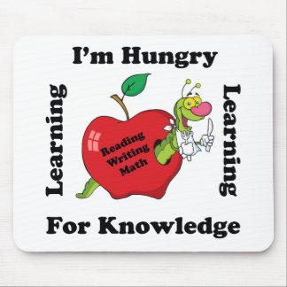 Hungrigt för kunskap musmatta