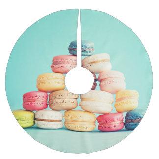 Hungrigt Macaron, hipster, multifärgad, Julgrankjol