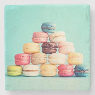 Hungrigt Macaron, hipster, multifärgad, Stenunderlägg