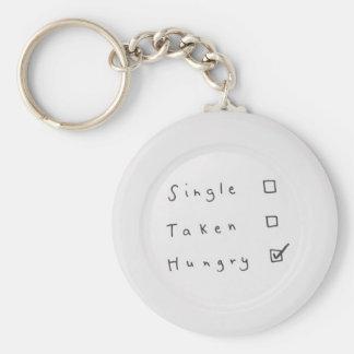 Hungrigt Rund Nyckelring