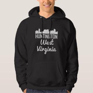 Huntington West Virginia horisont Sweatshirt Med Luva