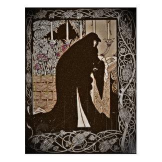 Hur drottningen Guinever gjorde henne en nunna Vykort