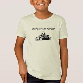 Hur Fast kan du gå? Tee Shirts