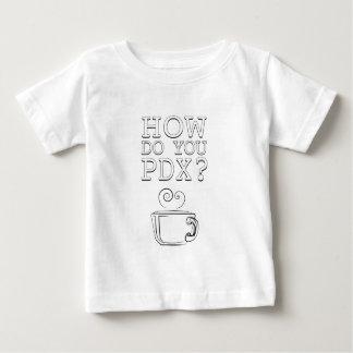 Hur gör du PDX? Kaffe!! T-shirt