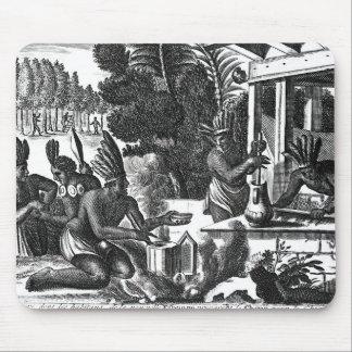 Hur infödingarna av nya Spanien Mus Matta