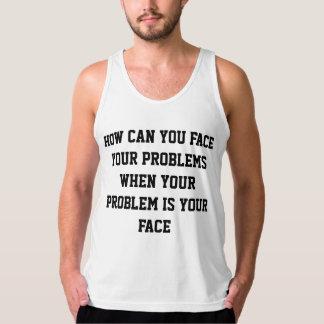 Hur kan du vända mot dina problem tanktop