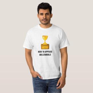 Hur man blidkar Millennials värdera T-tröja Tee