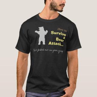 Hur man överlever en rolig T-tröja för björnattack T Shirts