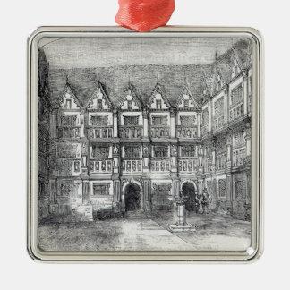 Hus av herr Thomas Gresham Julgransprydnad Metall