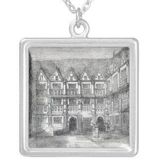 Hus av herr Thomas Gresham Silverpläterat Halsband