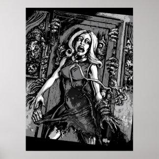 Hus av Zombies Poster