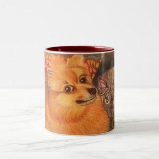 Husdjur-Porträtt mugg