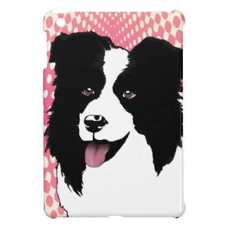 Husdjuret för konst för popet för gränsColliehunde iPad Mini Mobil Skydd
