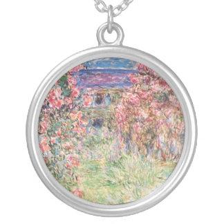 Huset bland ro, Claude Monet Silverpläterat Halsband