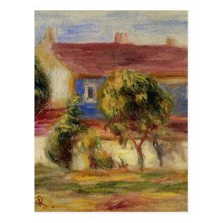 Huset för konstnär s vid Pierre-Auguste Renoir Vykort