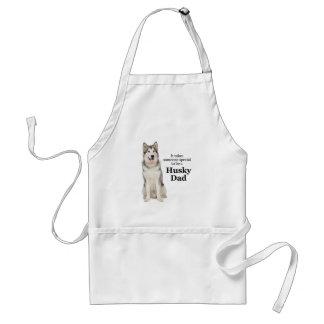 Husky ansa för pappa/grillfestförkläde förkläde