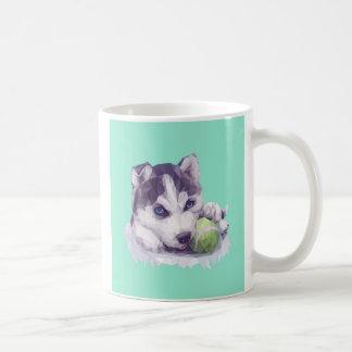 Husky deppighet kaffemugg
