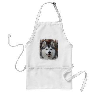Husky hundförkläde förkläde