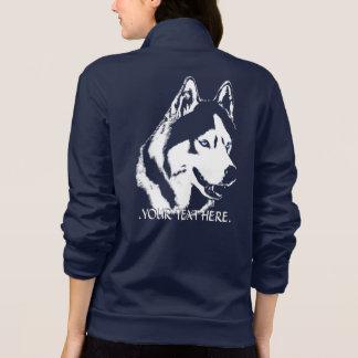 Husky jackakvinna jacka för personlig för hund för