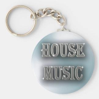 Husmusik Rund Nyckelring