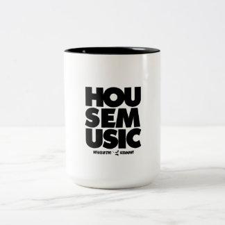 Husmusik Två-Tonad Mugg