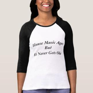 Husmusikåldrar men det får aldrig gammala t-shirt