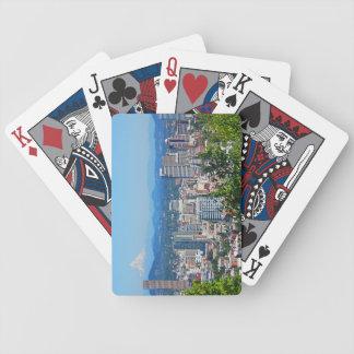 Huva för Portland horisontmontering som leker kort Spelkort