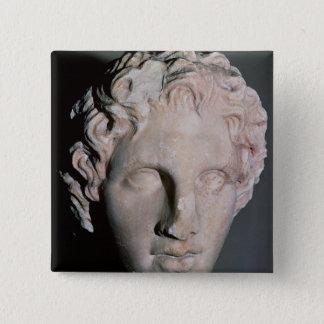 Huvud av Alexander underbaren Standard Kanpp Fyrkantig 5.1 Cm