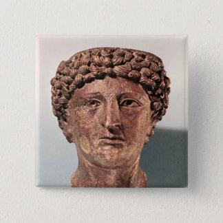 Huvud av Apollo, från Lillebonne Standard Kanpp Fyrkantig 5.1 Cm