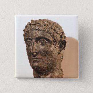 Huvud av Constantine underbaren Standard Kanpp Fyrkantig 5.1 Cm