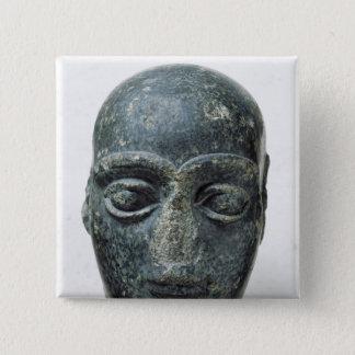 Huvud av en man standard kanpp fyrkantig 5.1 cm