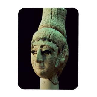 Huvud av en Prince eller en Princess av Ugarit (el Magnet