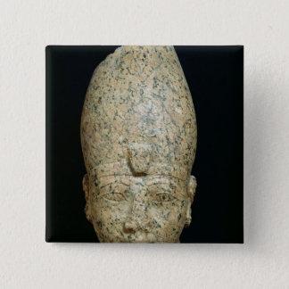 Huvud av Hatshepsut Standard Kanpp Fyrkantig 5.1 Cm