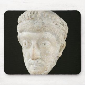 Huvud av kejsaren Theodosius II Musmatta