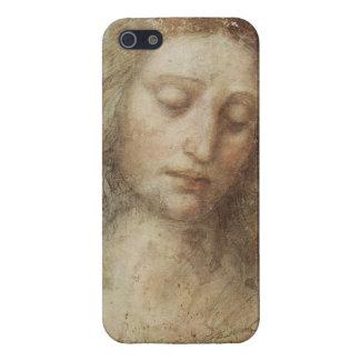 Huvud av Kristus av Leonardo Da Vinci iPhone 5 Skydd