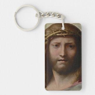 Huvud av Kristus Correggio Nyckelring
