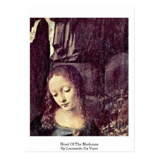 Huvud av Madonnaen By Vykort