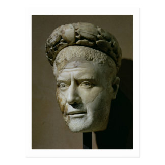 Huvud av Philip den arabiska romerska kejsaren Vykort