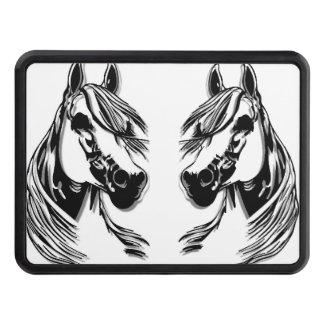 huvud för häst 3D Skydd För Dragkrok